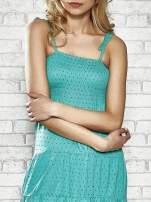 Zielona letnia sukienka w groszki Funk n Soul                                  zdj.                                  5
