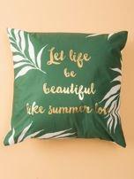 Zielona poduszka dekoracyjna                                  zdj.                                  2
