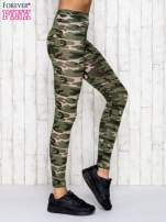 Zielone legginsy z motywem militarnym                                  zdj.                                  3