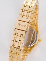 Złoty zegarek damski na bransolecie                                  zdj.                                  4