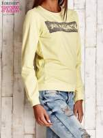 Żółta bluza z napisem ARIGATO                                  zdj.                                  3