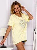 Żółta bluzka DIAMOND                                  zdj.                                  3
