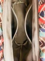 Żólta torba gumowa z motywem azteckim                                  zdj.                                  7
