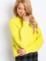 Żółty sweter Zoe                                  zdj.                                  1