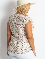 Żółty t-shirt Candy PLUS SIZE                                  zdj.                                  2